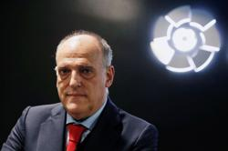 Soccer-Tebas dismisses court ruling asking UEFA to revoke action against Super League trio