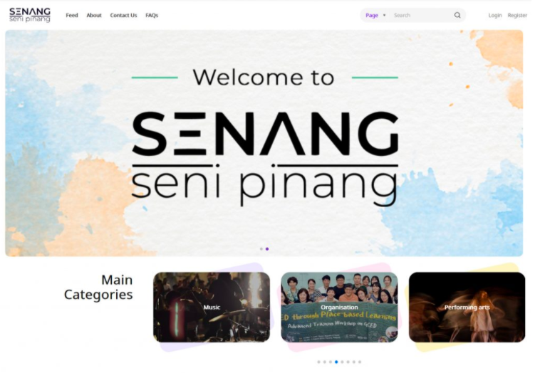 Penang Art District's new initiative senang.art is a one-stop centre for Penang artists, creators, and creative businesses. Photo: Handout