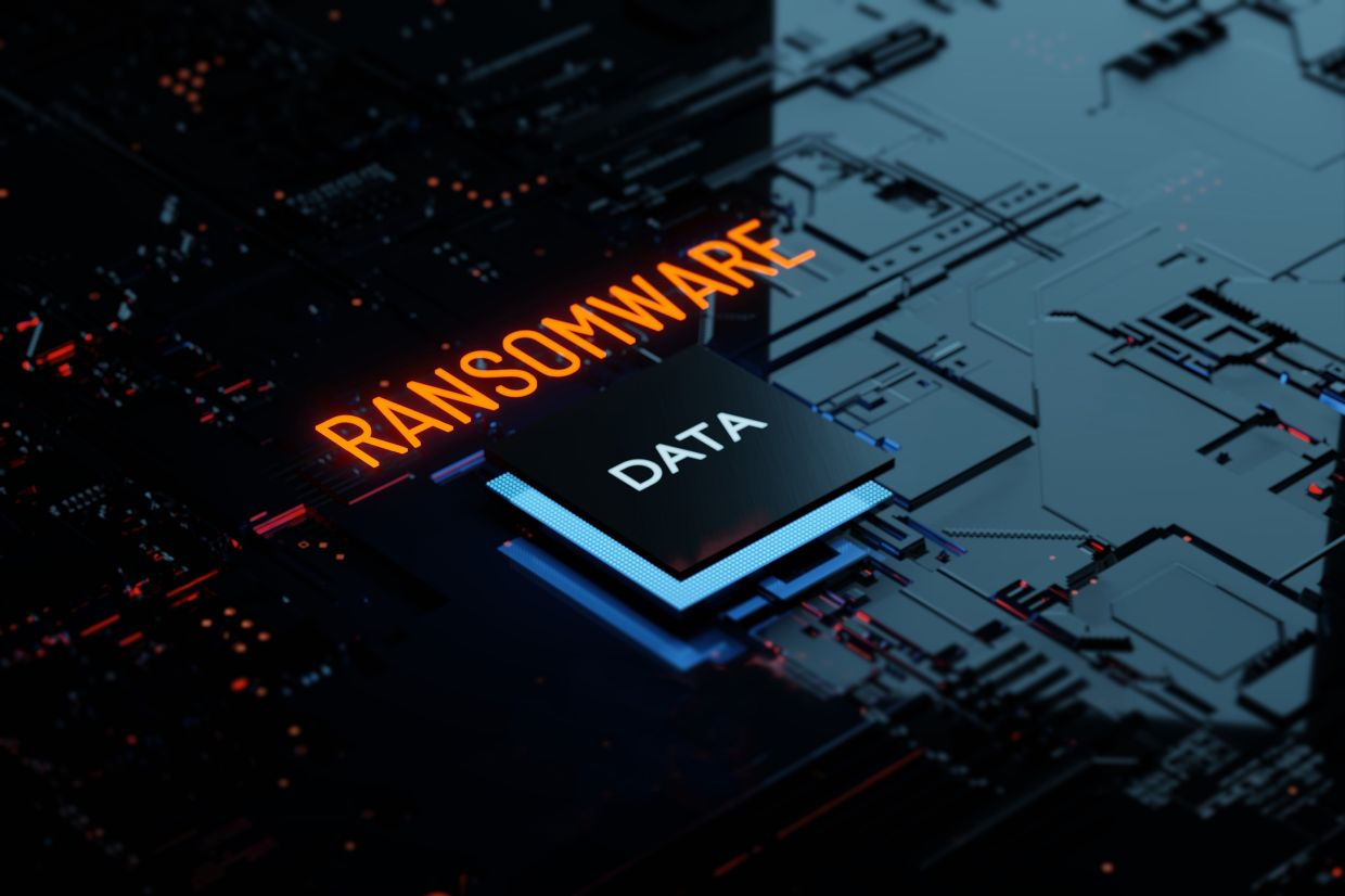 A cybersecurity firm detected 113,010 ransomware threats in Malaysia in the first four months of 2021. — AFP Relaxnews
