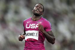 100m favourite Bromell sneaks through as fast loser