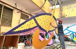 Wau makers busy despite pandemic