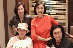 HK's Mambo queen' Ge Lan turns 88, celebrates with Lin Ching-hsia