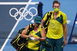 Olympics-Tennis-Australia deserved mixed doubles bronze: Barty