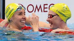 Olympics-Swimming-Mckeon of Australia wins women's 50m freestyle gold