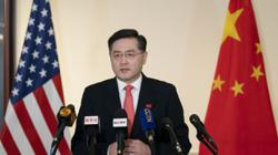 China's US envoy Qin Gang strikes conciliatory note on arrival in Washington