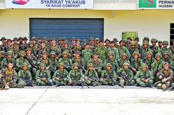 Brunei's large scale military exercise draws to a close