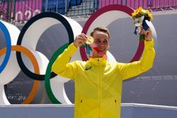 Olympics-Cycling-Backyard BMX park vaults Australia's Martin to freestyle gold