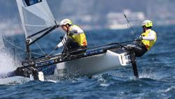 Olympics-Sailing-Wearn strikes sailing gold for Australia