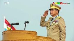 Myanmar army ruler pledges elections and also cooperation to Asean