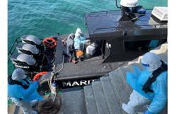 Johor MMEA evacuates three Covid-19 patients from Pulau Aur
