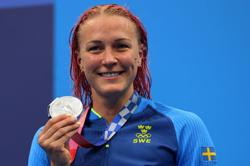 Olympics-Swimming-Toughest challenge ends in silver for Sjostrom