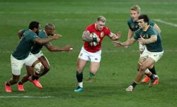 Rugby-Lions fullback Hogg denies accusation of biting in second test v Boks