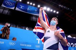 Gymnastics- Britain's Whitlock takes gold in pommel horse