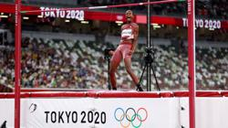 Olympics-Athletics-'Can we have two golds?' - Barshim, Tamberi share high jump win