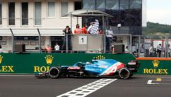 Motor racing-Ocon takes his first F1 win in Hungary with Alpine