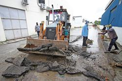 JKR starts project to repair road