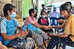 It's a get-together at vaccination centres