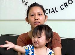 Single mum appeals for funds for toddler's heart surgery