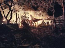Mosquito coil fire guts three houses