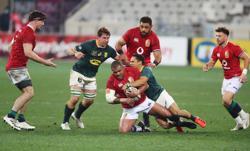 Rugby-Lions prop Sinckler cited for biting in second test v Boks