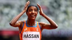 Olympics-Athletics-Hassan brilliantly recovers from fall to win 1,500m heat