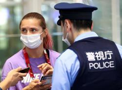 Japan says Belarus athlete safe, authorities checking her intentions