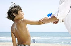 Wondering how much sunscreen to apply on your child?