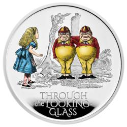 'Through The Looking-Glass' coin released by Britain's Royal Mint