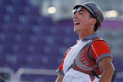 Olympics-Archery-Success is in a smile for Turkey's golden Gazoz