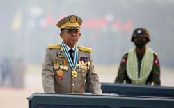 Myanmar shadow government condemns army ruler for taking PM role