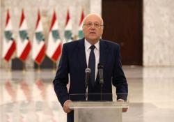 Lebanon's Mikati says hoped for faster pace towards government