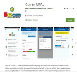 Mobile app for Ampang ratepayers
