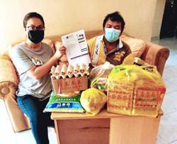Aid for caregiver and bedridden mother
