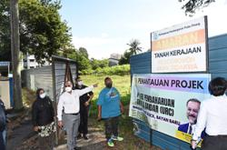 Site for new flats to resettle residents