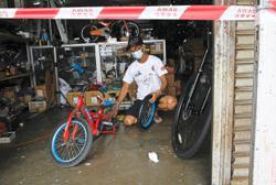 No green light for bike repair shops
