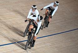 Germany rewrite women's team pursuit world mark