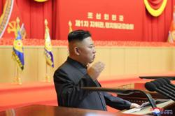 Kim Jong-un's head bandage is added to list of health mysteries