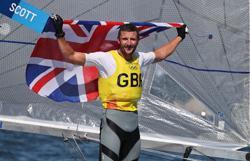Olympics-Sailing-Britain's Scott wins men's Finn sailing gold