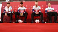 Olympics-Cycling-Britain's Clancy withdraws from team pursuit