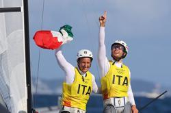 Olympics-Sailing-Italy's Tita and Banti win Nacra 17 sailing gold