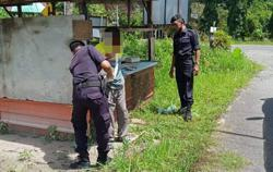 Armed man runs amok, again, over money for drugs in Sabah