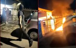 Police hunt for masked arsonist after deed is WhatsApped to victim