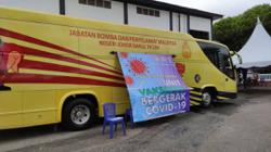Johor Fire and Rescue turns showcase bus into mobile vaccination centre