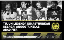 Chin Aun named world's most capped player, three other legends join FIFA list