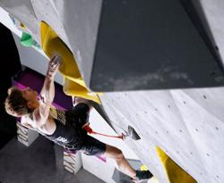 Olympics-Climbing: Fresh faced Duffy flies flag for rising talent after qualifying third