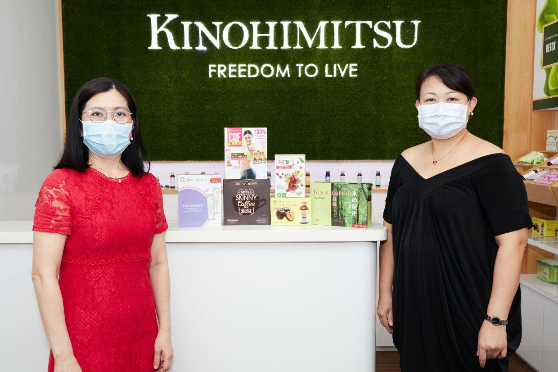 Jennifer Chin (left) and Winnie Pok believe that detox can help with a person's wellness. Photo: Kinohimitsu
