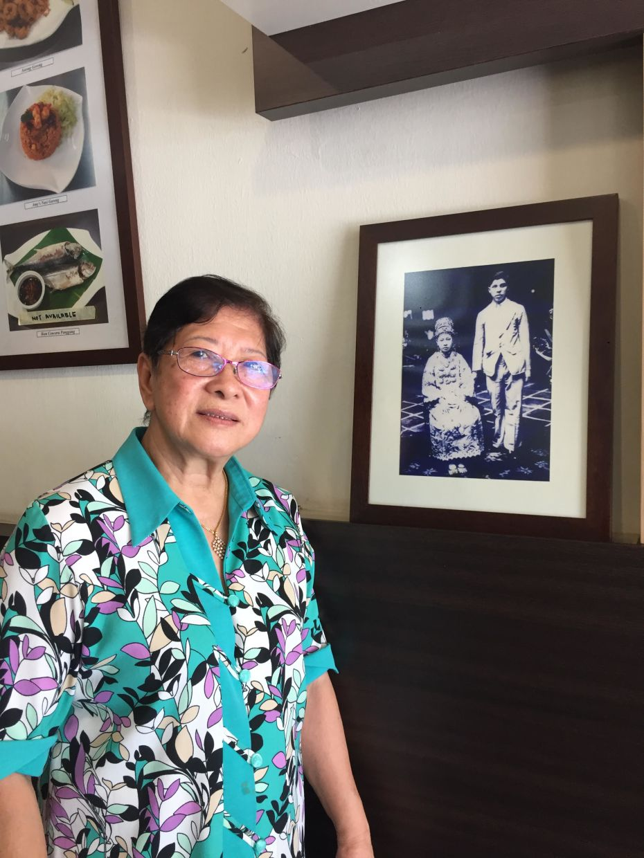 Chan also makes a conscious effort to highlight the stories behind many of these food businesses. Pictured here is Amy Koh who runs Amy's Nyonya Heritage. - MELISSA CHAN