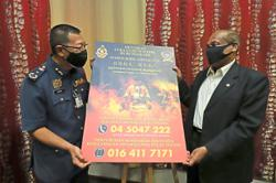 Fire Dept teams up with NGO to help victims of depression