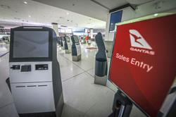 Lockdown blow for Qantas