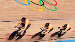 Holland end British stranglehold in men's team sprint